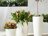 Уличные вазоны - важный элемент садового декора